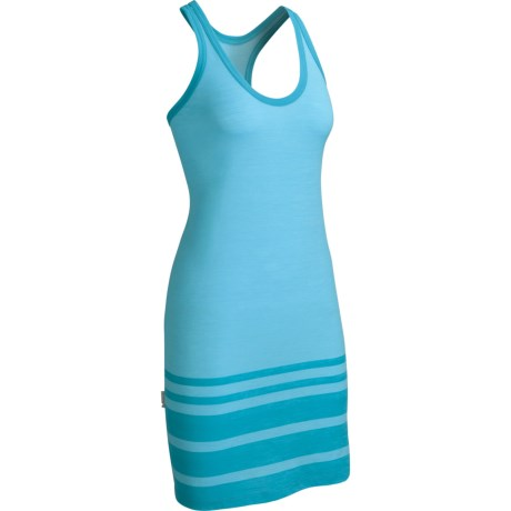 Icebreaker SF150 Cruise Tank Dress - Merino Wool, Racerback, Sleeveless (For Women) in Capri