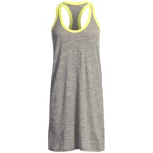 Icebreaker SF150 Cruise Tank Dress - Merino Wool, Racerback, Sleeveless (For Women) in Metro - Closeouts