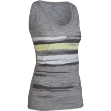 Icebreaker SF150 Shoreline Tech Tank Top - Merino Wool (For Women) in Metro - Closeouts