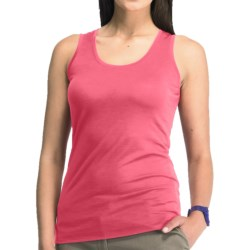 Icebreaker SF150 Tech Tank Top - Merino Wool, Scoop Neck, Sleeveless (For Women) in Hibiscus