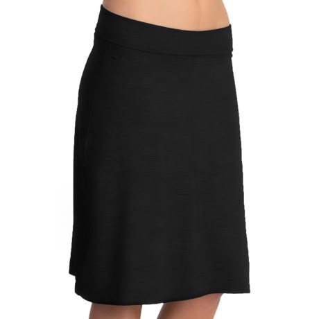 Icebreaker SF200 Maya Skirt - Merino Wool (For Women) in Black