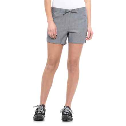 Icebreaker Shasta Shorts - Merino Wool (For Women) in Fathom Heather - Closeouts