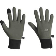 Icebreaker Sierra Gloves - Merino Wool (For Men and Women) in Cargo - Closeouts