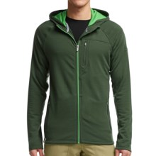 Icebreaker Sierra Hooded Jacket - Merino Wool (For Men) in Conifer/Balsam/Balsam - Closeouts