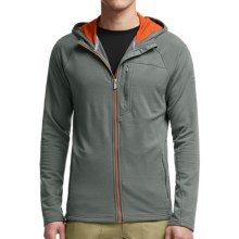 Icebreaker Sierra Hooded Jacket - Merino Wool (For Men) in Metal/Spark/Spark - Closeouts