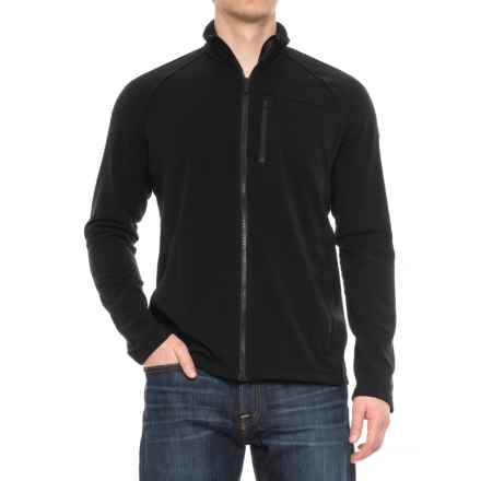 Icebreaker Sierra Jacket - Merino Wool (For Men) in Black/Black - Closeouts