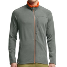 Icebreaker Sierra Jacket - Merino Wool (For Men) in Metal/Spark/Spark - Closeouts