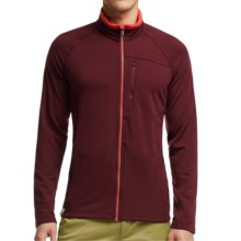Icebreaker Sierra Jacket - Merino Wool (For Men) in Redwood/Clay/Clay - Closeouts