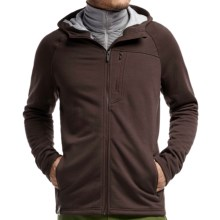 Icebreaker Sierra Plus RealFleece Jacket - Merino Wool (For Men) in Walnut - Closeouts