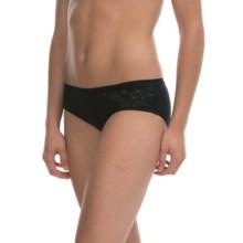 Icebreaker Siren Hipkini Panties - Merino Wool, Hipster (For Women) in Botanical Black - Closeouts