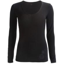 Icebreaker Siren Sweetheart Bodyfit 150 Base Layer Top - Merino Wool, Long Sleeve (For Women) in Black - Closeouts