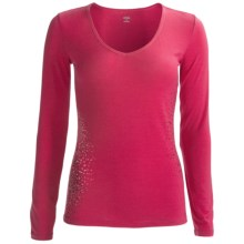 Icebreaker Siren Sweetheart Bodyfit 150 Base Layer Top - Merino Wool, Long Sleeve (For Women) in Cherub - Closeouts