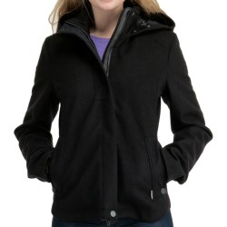 Icebreaker Skyline Jacket - UPF 50+, Merino Wool, Hooded (For Women) in Black