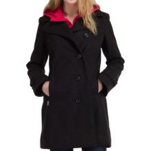 Icebreaker Skyline Peacoat Jacket - UPF 50+, Merino Wool (For Women) in Black - Closeouts