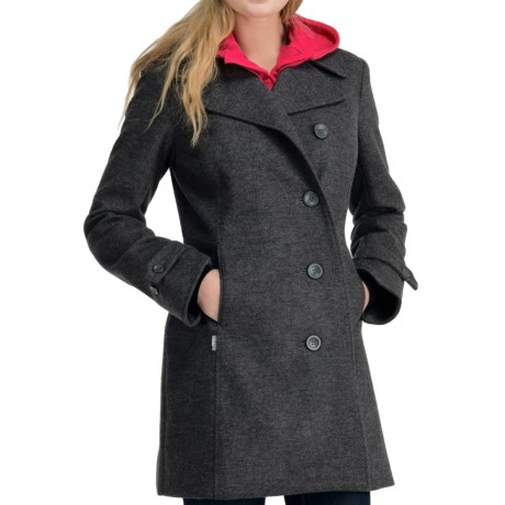 Icebreaker Skyline Peacoat Jacket - UPF 50+, Merino Wool (For Women) in Oxide