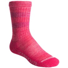 Icebreaker Snow Kids Midweight Socks - Merino Wool, Over-the-Calf (For Kids) in Ruby/Cherub - Closeouts