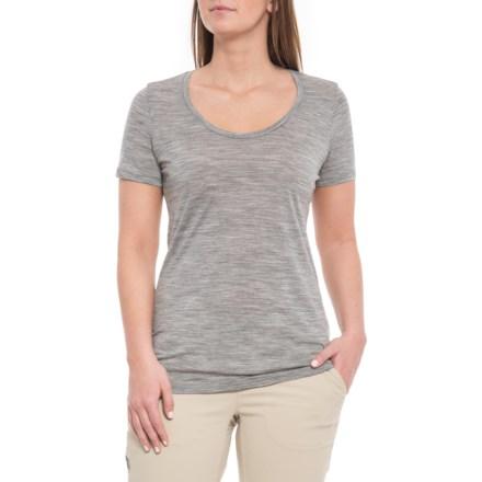 cd3a20d0 Icebreaker Spector Scoop Neck T-Shirt - Merino Wool, Short Sleeve (For Women
