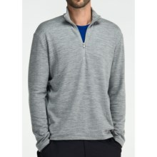 Icebreaker Sport 320 Original Zip Neck Shirt - Merino Wool, Long Sleeve (For Men) in Metro - Closeouts