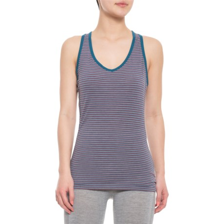 2743125c05 Icebreaker Sprite Tank Top - Merino Wool (For Women) in Velvet/Dew/
