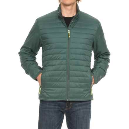 Icebreaker Stratus Zip Jacket - Insulated (For Men) in Canoe/Monsoon/Canoe - Closeouts