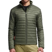 Icebreaker Stratus Zip Jacket - Insulated (For Men) in Cargo/Cargo/Cargo - Closeouts