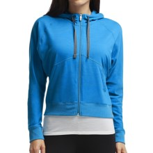 Icebreaker Sublime Hoodie - Merino Wool, UPF 20+, Full Zip (For Women) in Force - Closeouts