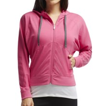Icebreaker Sublime Hoodie - Merino Wool, UPF 20+, Full Zip (For Women) in Shocking - Closeouts