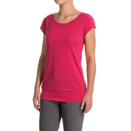Icebreaker Sublime T-Shirt - Merino Wool, Short Sleeve (For Women) in Cherub - Closeouts