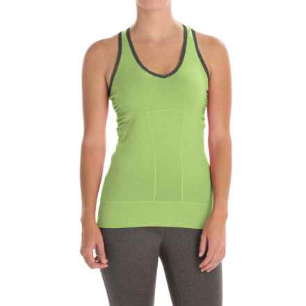 Icebreaker Sublime Tank Top - UPF 40+ (For Women) in Aloe/Panther - Closeouts