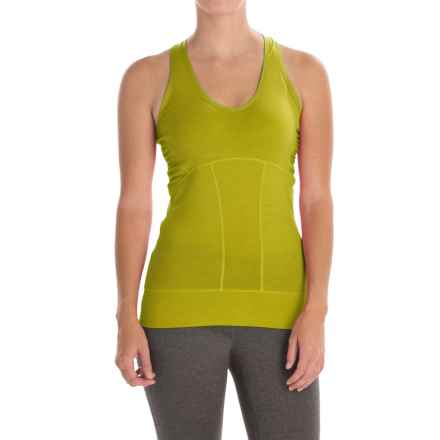 Icebreaker Sublime Tank Top - UPF 40+ (For Women) in Chartreuse/Chartreuse - Closeouts