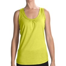 Icebreaker Superfine 150 Retreat Tank Top - Merino Wool (For Women) in Citrine - Closeouts