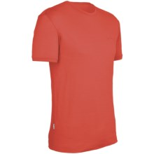 Icebreaker Superfine 150 Tech T-Lite T-Shirt - Merino Wool, Short Sleeve (For Men) in Cajun - Closeouts