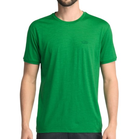 Icebreaker Superfine 150 Tech T-Lite T-Shirt - Merino Wool, Short Sleeve (For Men) in Cricket
