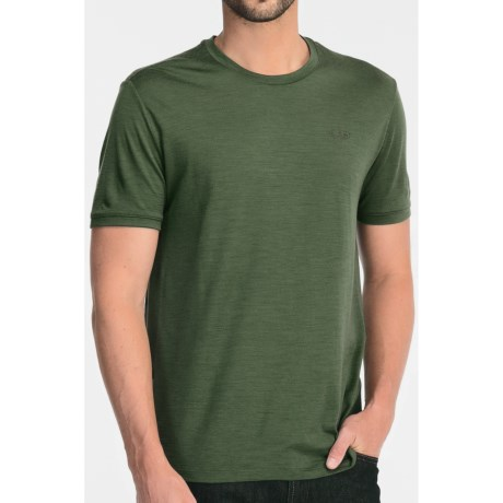 Icebreaker Superfine 150 Tech T-Lite T-Shirt - Merino Wool, Short Sleeve (For Men) in Scout