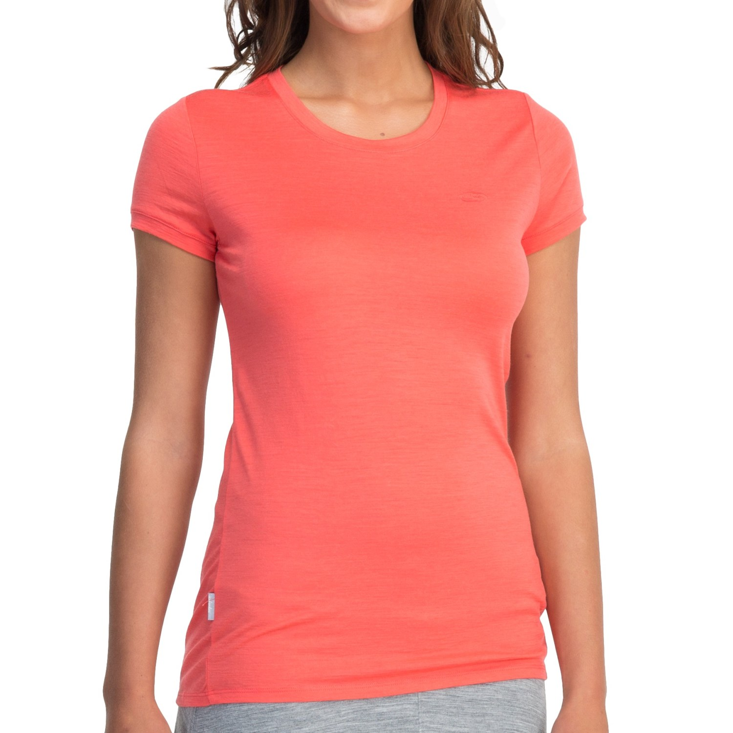 Icebreaker superfine 150 tech t lite t shirt merino wool for Merino wool shirt womens