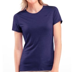 Icebreaker Superfine 150 Tech T Lite T-Shirt - Merino Wool, UPF 30+, Short Sleeve (For Women) in Horizon