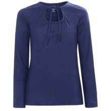 Icebreaker Superfine 150 Zenith Shirt - Merino Wool, Long Sleeve (For Women) in Cosmic - Closeouts