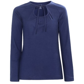 Icebreaker Superfine 150 Zenith Shirt - Merino Wool, Long Sleeve (For Women) in Cosmic