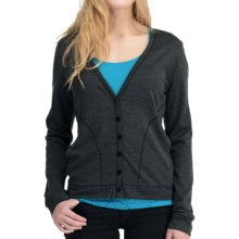 Icebreaker Superfine 200 Bliss Cardigan Sweater - Merino Wool (For Women) in Jet - Closeouts