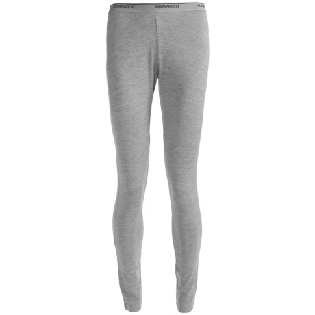 Icebreaker Tech Base Layer Bottoms - Midweight, Merino Wool (For Women) in Evening