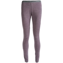 Icebreaker Tech Base Layer Bottoms - Midweight, Merino Wool (For Women) in Blizzard