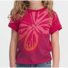 Icebreaker Tech Lite 150 Flutter T-Shirt - UPF 30+, Merino Wool, Short Sleeve (For Kids) in Cherub - Closeouts
