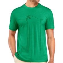 Icebreaker Tech Lite Bike Jump T-Shirt - UPF 30+, Merino Wool, Short Sleeve (For Men) in Lucky - Closeouts