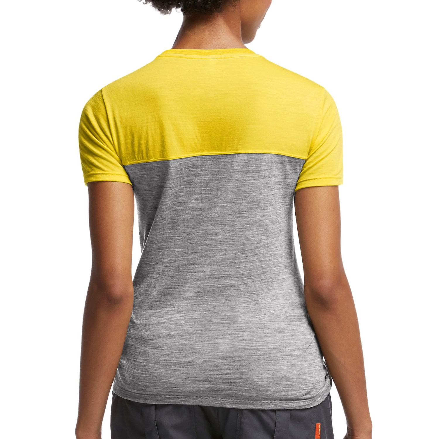Icebreaker tech lite color block t shirt for women for One color t shirt
