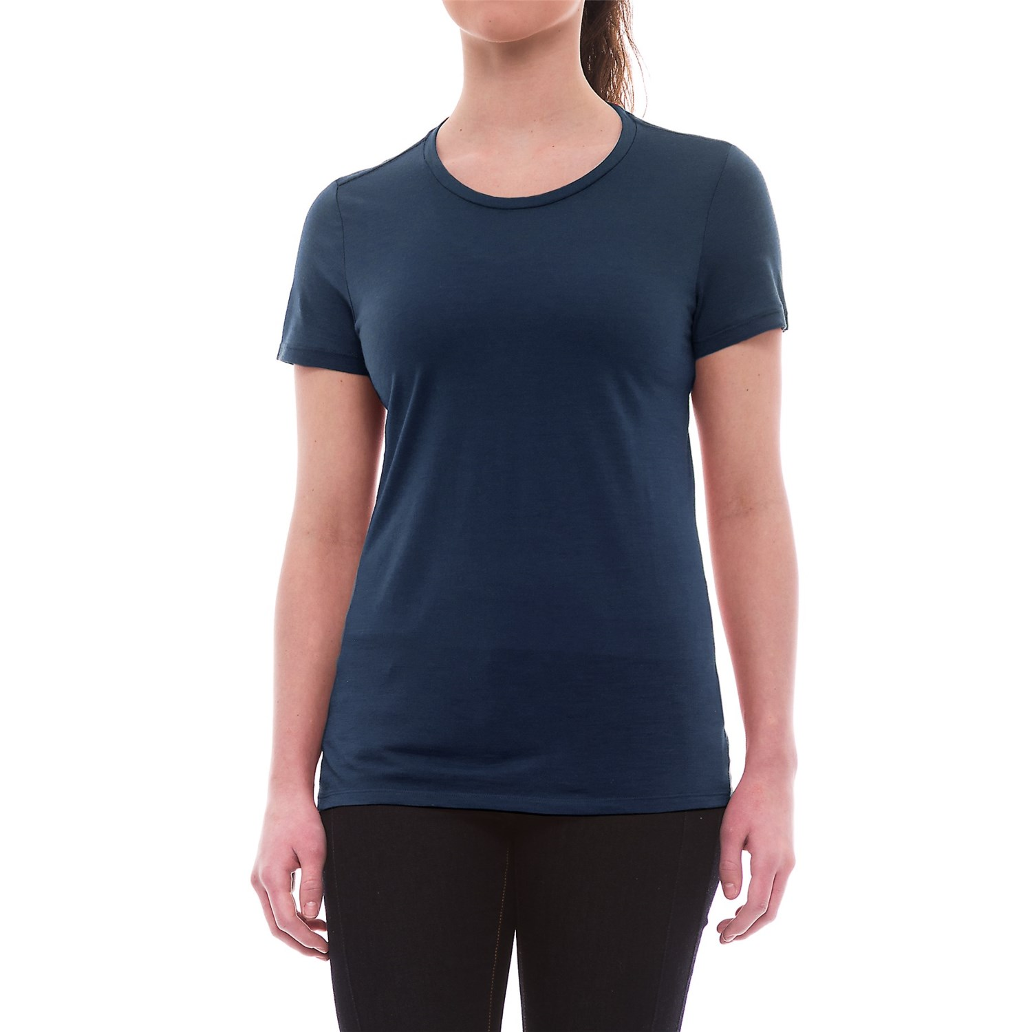 Icebreaker tech lite crewe t shirt for women save 46 for Merino wool shirts for travel