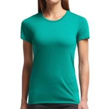 Icebreaker Tech Lite Crewe T-Shirt - UPF 20+, Merino Wool (For Women) in Nautical - Closeouts
