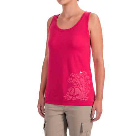 Icebreaker Tech Lite Gone Bush Tank Top (For Women) in Cherub - Closeouts