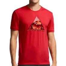 Icebreaker Tech Lite Playground T-Shirt - UPF 20+, Merino Wool, Short Sleeve (For Men) in Rocket - Closeouts