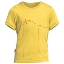Icebreaker Tech Lite Stick Bike T-Shirt - UPF 30+, Merino Wool, Short Sleeve (For Little and Big Boys) in Fuse - Closeouts