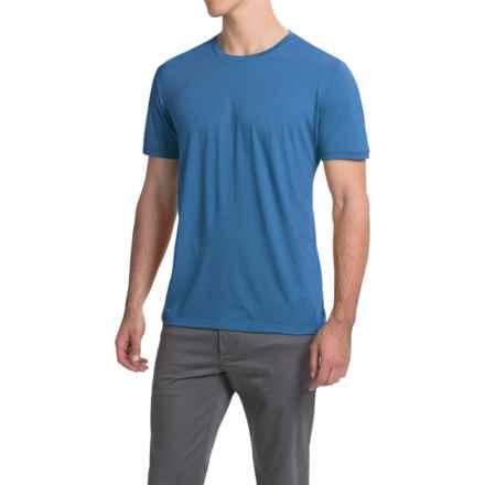 Icebreaker Tech Lite T-Shirt - Merino Wool, Crew Neck, Short Sleeve (For Men) in Cadet - Closeouts